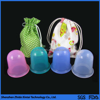 china supplier silicone anti cellulite massage cup