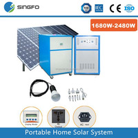 solar storage system 1500w solar home generator system multi-function portable power station mobile portable solar power station