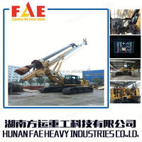 Hot Sales! Sale to Russia FAE Rotary ground hole drilling machine/ rc drilling rig for sale