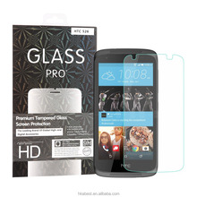 For HTC Desire 526 Mobile Phone HD Clear Anti-shock Protective Tempered Glass Screen Protector
