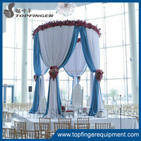 Factory price Romantic portable events pipe and drape backdrop