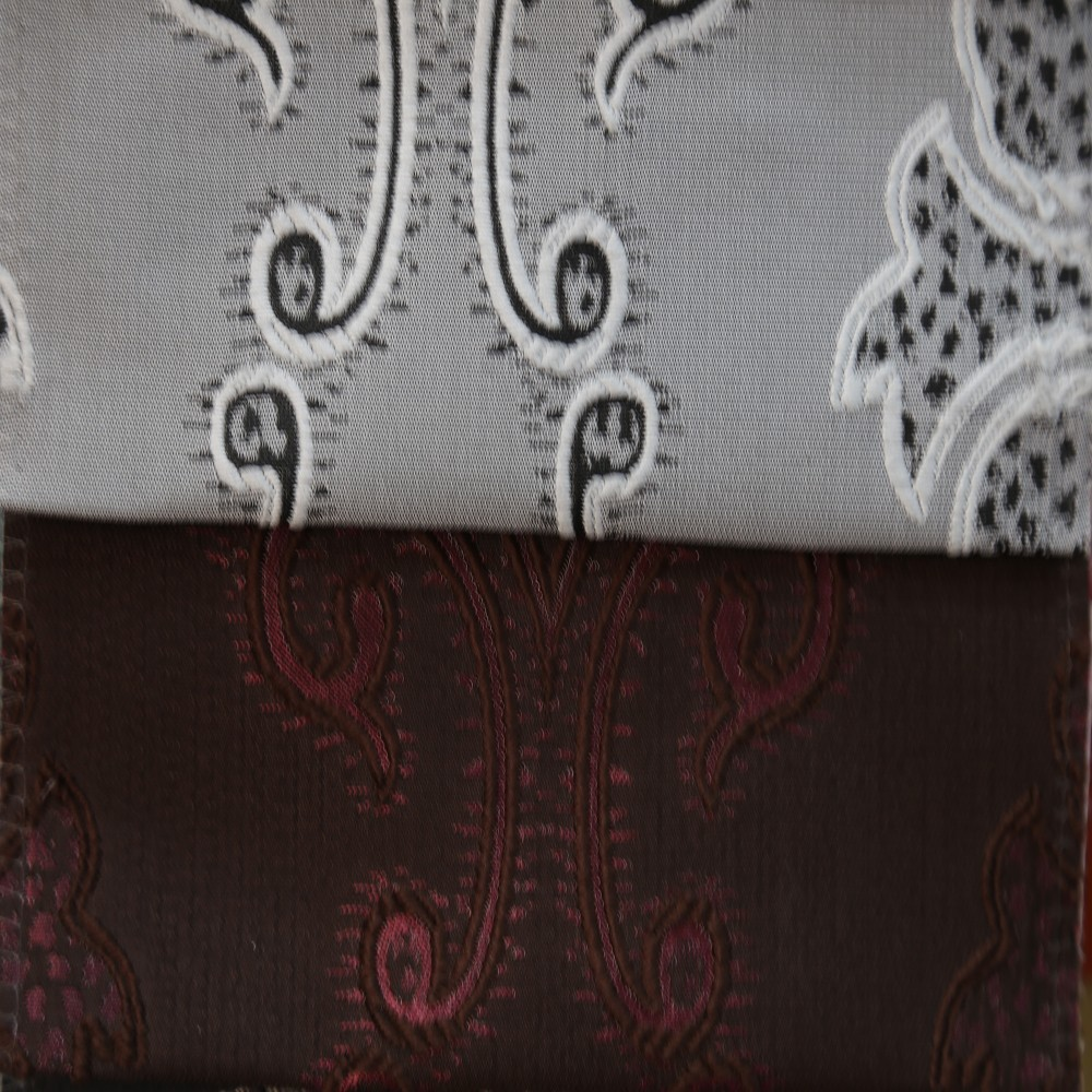 Modern curtain design jacquard fabric curtains for door