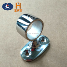 Marine / Boat Hardware Stainless Steel Handrail Fitting End Stanchion