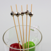 wholesale fruit salad decoration pick skewer stick