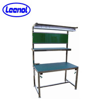 Adjustable ESD laboratory work tables electronic lab workbench