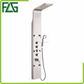5 Button Stainless Steel Wall Shower Panels