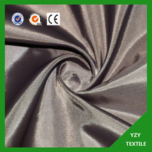 100% polyester fabric for bag 100% polyester woven fabric 100% polyester 190T taffeta fabric