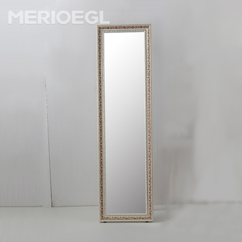 Rectangle wooden frame cheap floor stand dressing mirror for Large floor mirror cheap