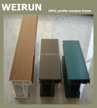 Colored Window Frame UPVC Profile