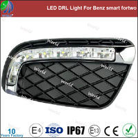 Special led drl light,with turn function,white,led drl for Benz smart fortwo
