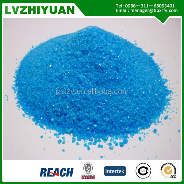 feed grade Copper sulfate for paint CuSO4.5H2O Electroplating grade 99