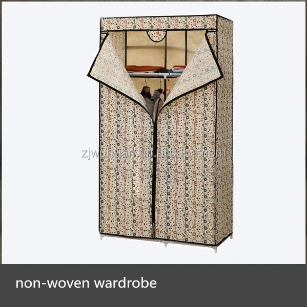 2015 Hot Sale Canvas Foldable Wardrobe