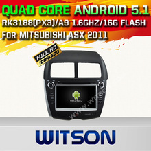 WITSON Android 5.1AUTO CAR DVD GPS For MITSUBISHI ASX 2011 WITH CHIPSET 1080P 16G ROM WIFI 3G INTERNET DVR SUPPORT