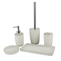 High quality handmake bathroom sets polyresin bathroom sets for weddings