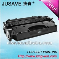 Cheap Compatible toner cartridge for HP printer CE505X supply
