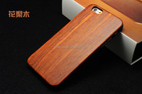 FL2532 Best Quality Real Natural Bamboo Wooden Wood Hard Back Case Cover Protector for iPhone 6 plus