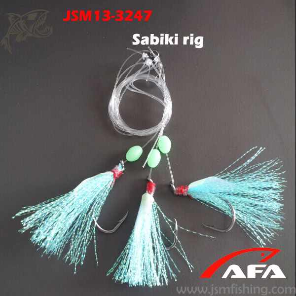 Wholesale fishing rig tied sabiki hook for longline sea fishing