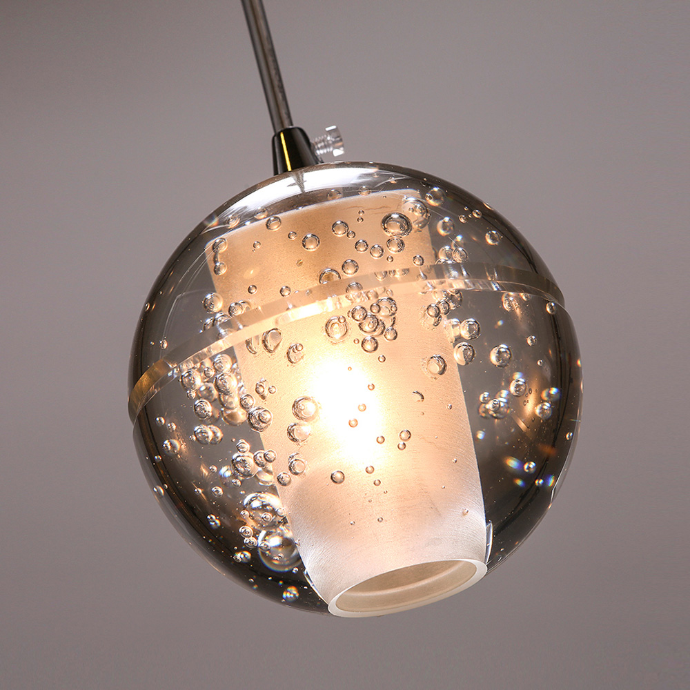 hotel <strong>modern</strong> led crystal ball pendant light