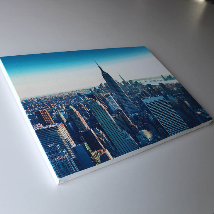 High resolution 20 multiply 35 CM waterproof custom <strong>picture</strong> stretched canvas printings