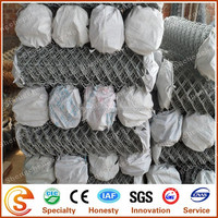 galvanized extension fence/chain link fence made in Guangzhou (packing in rolls)