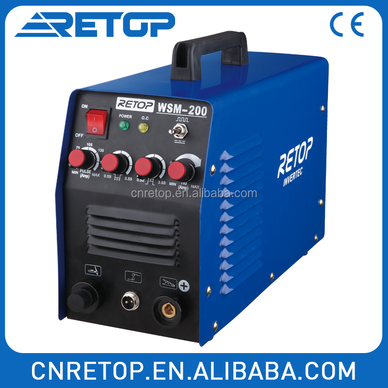 Different Models of pulse tig welding equipment CE Standard