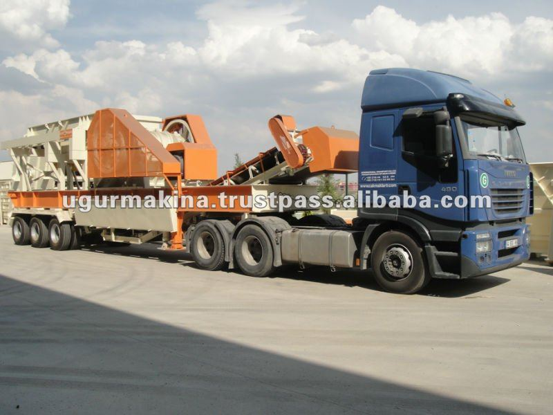 Mobile Primary Crushing Units With Jaw Crusher