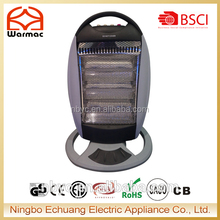 2017 Metal and PP plastic 220V Room Heater Portable Halogen Heater