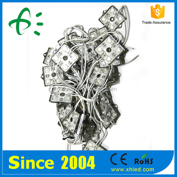 CE ROHS IP67 4pcs SMD 5050 LED Backlight Module With Lens