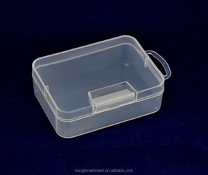 Wholesale Stamp Collection Very Small Empty Transparent Rectangular PP Storage Plastic Box