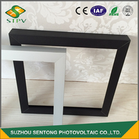 Silver anodizing extrusion machining aluminum alloy solar frames