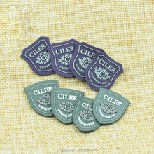 Cutting felt silicone label,clothing rubber logo patch