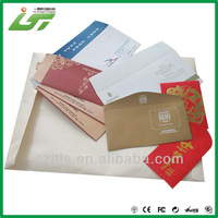 pure color printing manila envelope