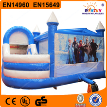 Frozen theme Inflatable Buncer with Slide