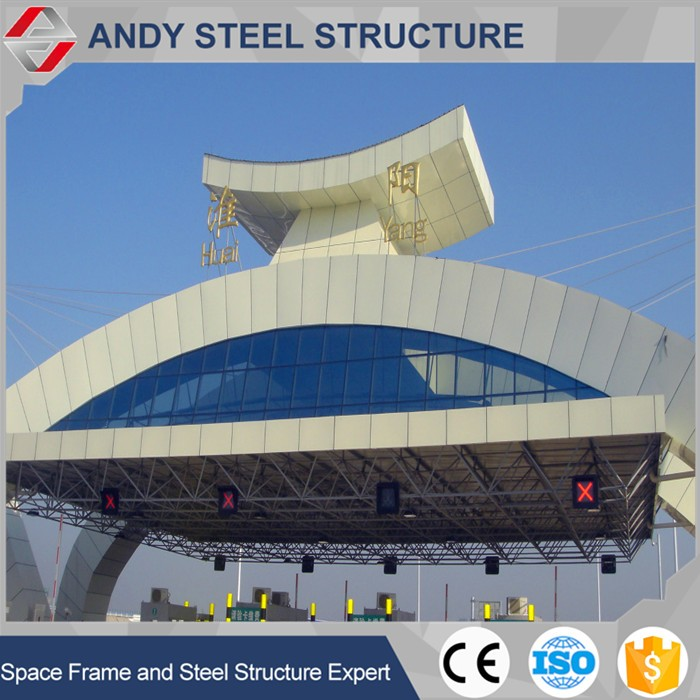 Prefabricated Steel Frame Toll Station Roof covering