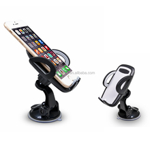 Fast delivery universial mobile phone holder adjustable car sucker bracket outo dashboard phone mount for smartphone
