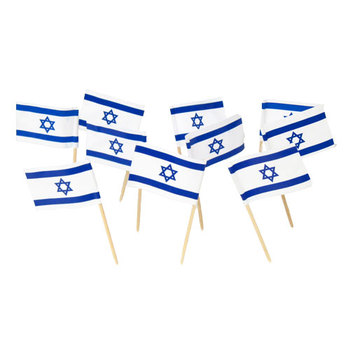 wholesale party cocktail toothpick flags wooden flag for decoration