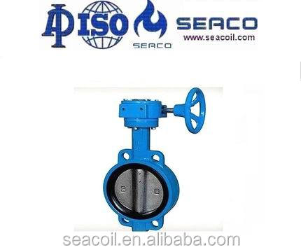 200 PSI DN 40-DN 1200 cheap oil well control assembly butterfly valve