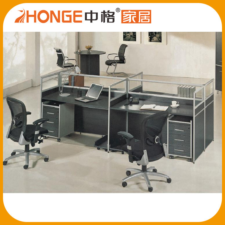 Adjustable 4 Person Low Price Office Workstation/Office Cubicle