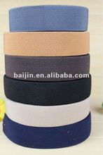 Monocolor Twill Weave Elastic Ribbon