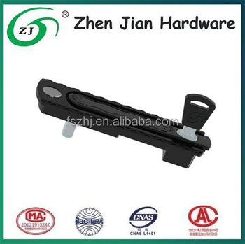 Good quality sliding glass door latch for UPVC / aluminum doors and windows
