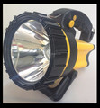 Factory best selling 8w 3 in 1 led rechargeable spotlight with flash light on backside