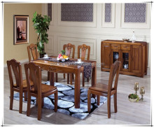 high quality solid wooden dinning table and chairs for sale