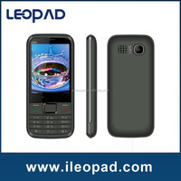"2.8"" Screen Quad band Slim big battery cell phone with JAVA & vibration & Holster"