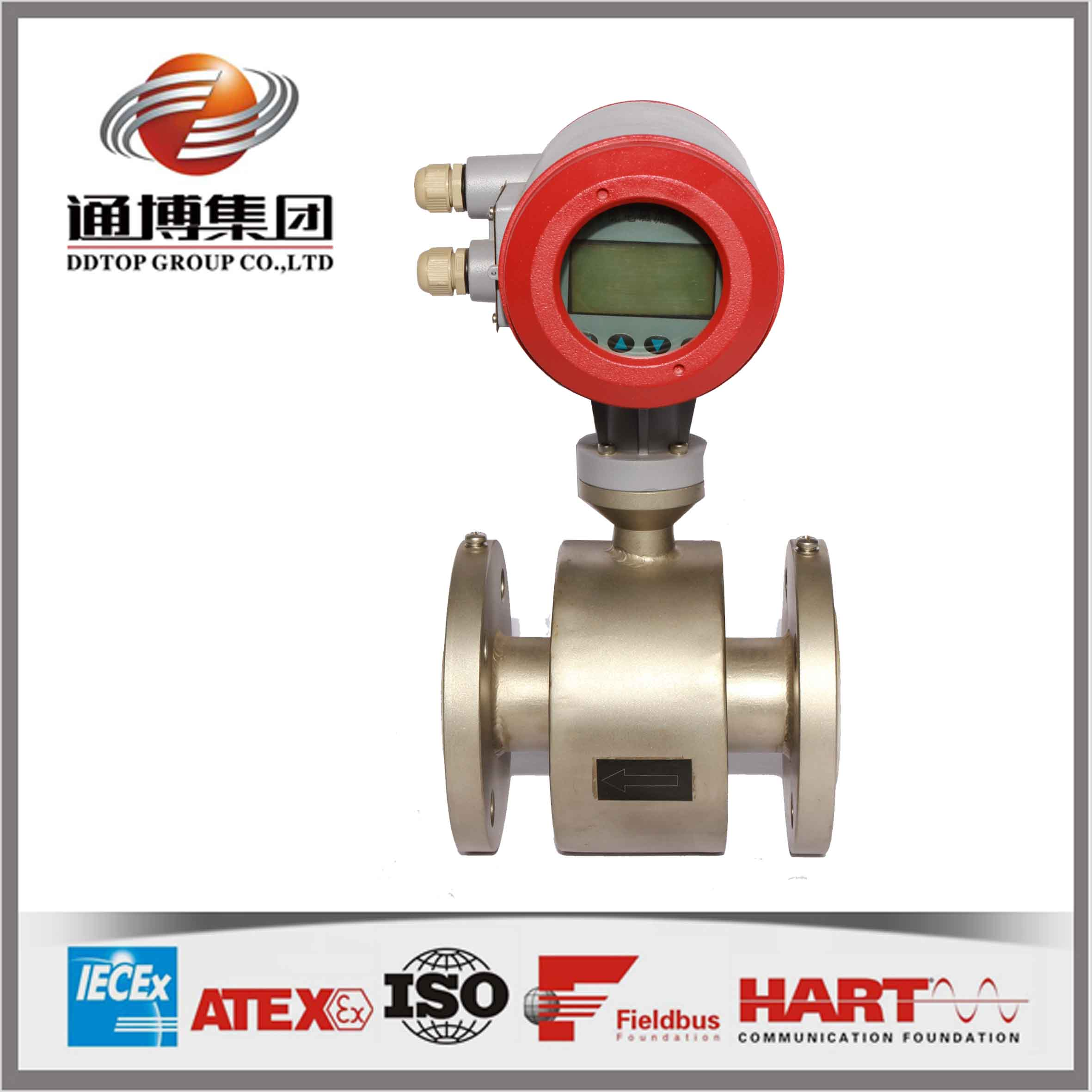 LD electronic water flow meter for waste water