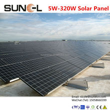 solar panel photovoltaic 260w for off grid power system