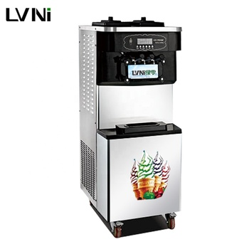 LVNI chinese rainbow carpigiani taylor multi 3 flavor soft serve ice cream making machine philippines malaysia south africa