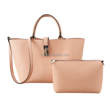 Latest Pink Designer Handbags for Women Shenzhen Factory