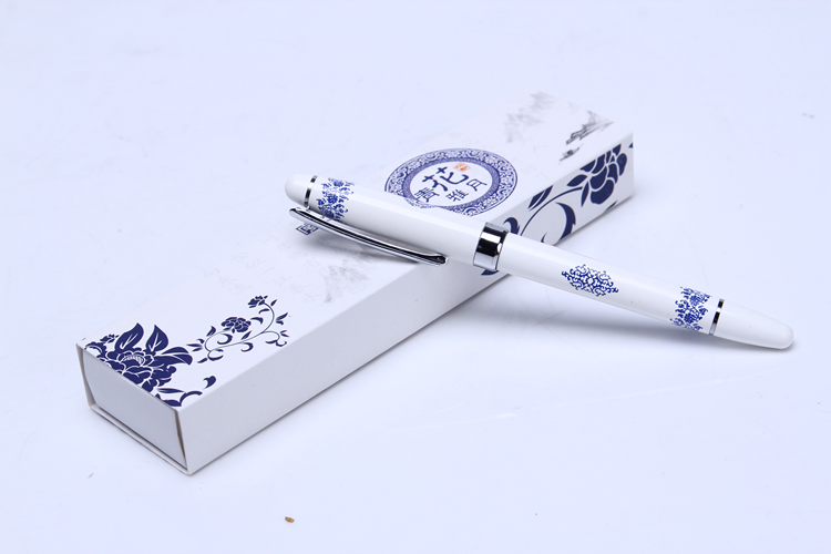 New Products 2018 Bulk Cheap Advertising Promotional Chinese Style Pens Gift Boxed