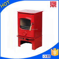 China styled outdoor wood burning fireplace cast iron stove for christmas