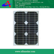 Photovolatic panel 60 Watts mono solar plate Black 750*680*30mm
